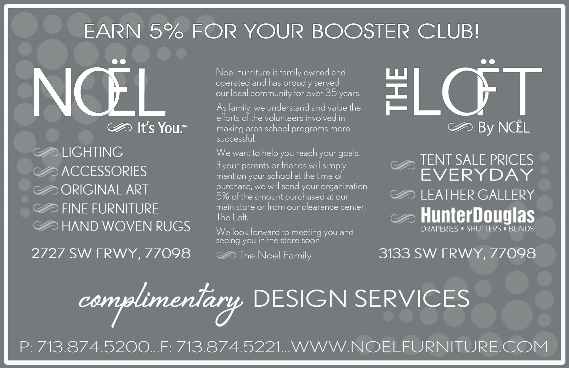 Fundraiser - Booster Club NOEL