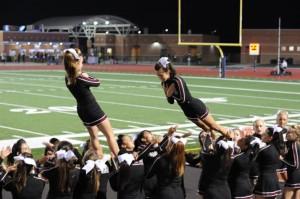 Falling Cheerleaders!