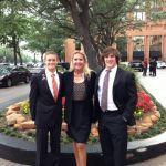 Chandler LeMaire, Mrs. Haack & Chris Greer